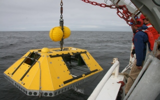 Benthic Experiment Package Deployment