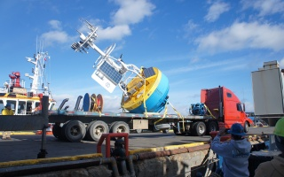 Southern Ocean Surface Mooring on truck