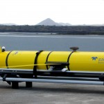 Teledyne Webb Research will modify its Slocum Glider (shown above) for the open oceans component of the Ocean Observatories Initiative. (Photo provided by Teledyne Webb Research)