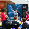 The OOI Team engages students at a STEM Career Fair. (Photo Credit: Mike Crowley)