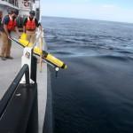 Deployment of Endurance Coastal Glider 381 offshore of Grays Harbor, Washington. (Photo Credit: Oregon State University)