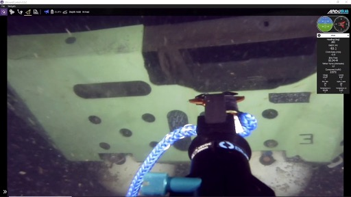 ROV underneath