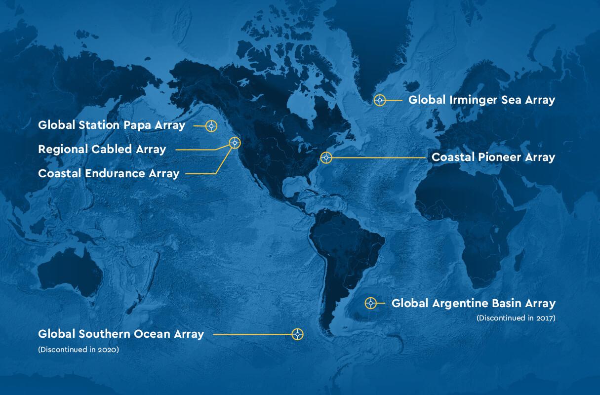 Array map
